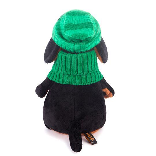 Ваксон в зеленой шапке и шарфе