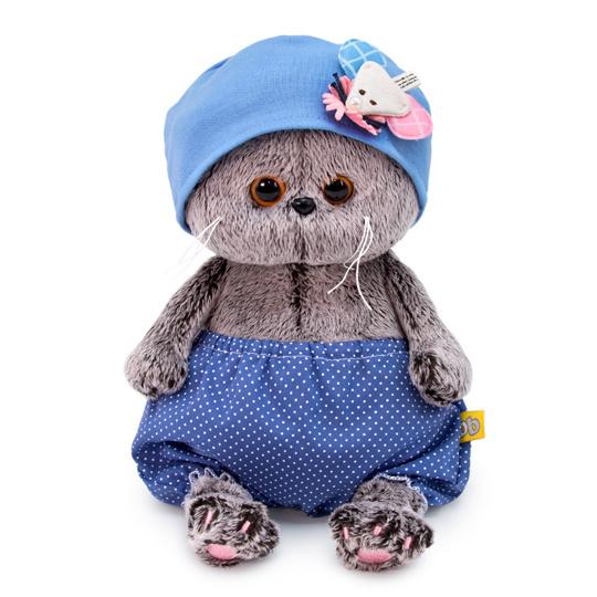 Кіт Басик BABY в шапочці з мишкою
