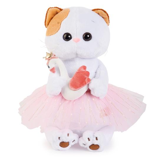 Кошечка Ли Ли балерина с лебедем