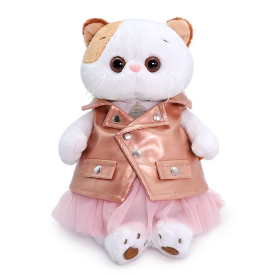 Кошечка Ли Ли в юбке и жилетке