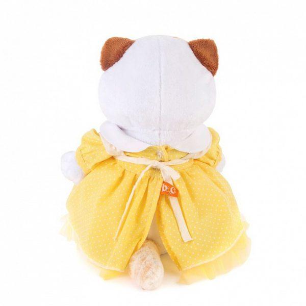 Кошечка Ли Ли желтом платье с передником