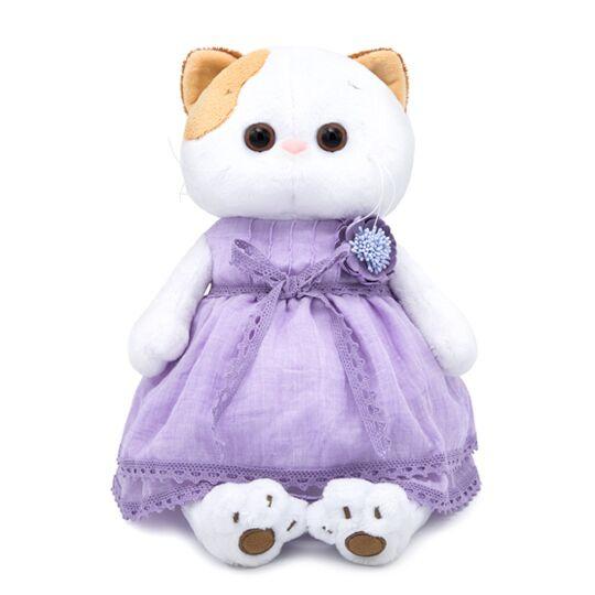 Одежда для кошечки Ли Ли — Лавандовое платье с цветком