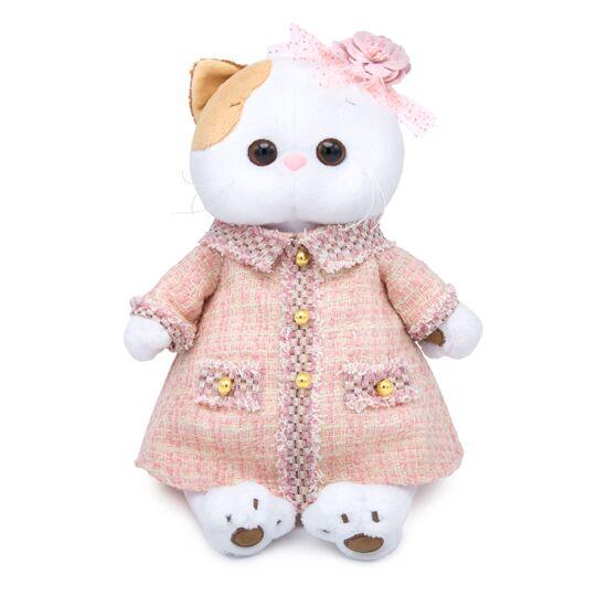 Одежда для кошечки Ли Ли — Розовый костюм в клетку