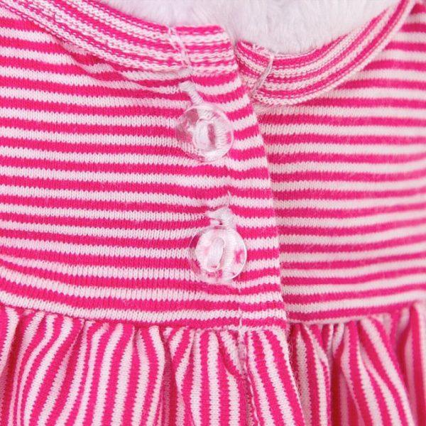 Одежда для кошечки Ли Ли — Розовая пижамка в полоску