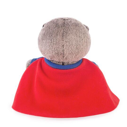 Кот Басик BABY в костюме супермена