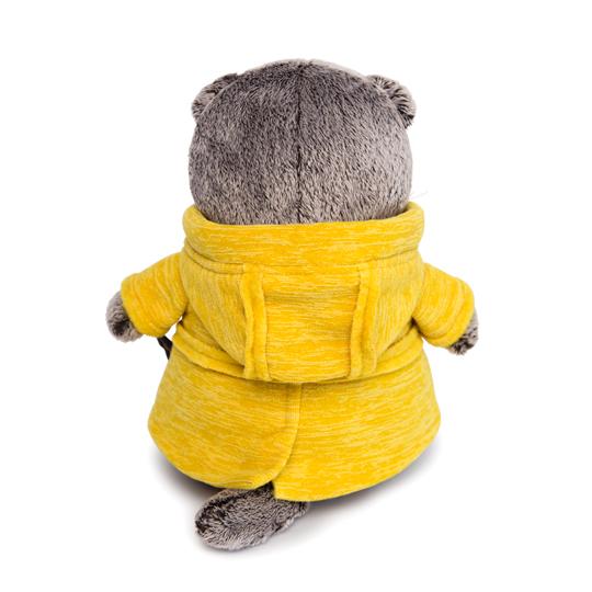 Кот Басик в желтой куртке «B&Co»