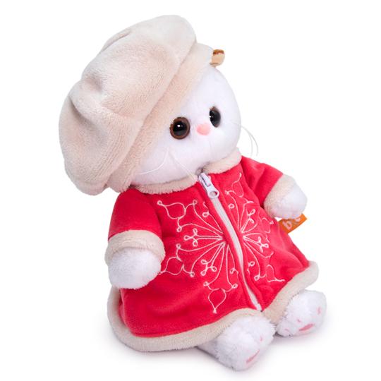 Кошечка Ли Ли BABY в костюме со снежинкой