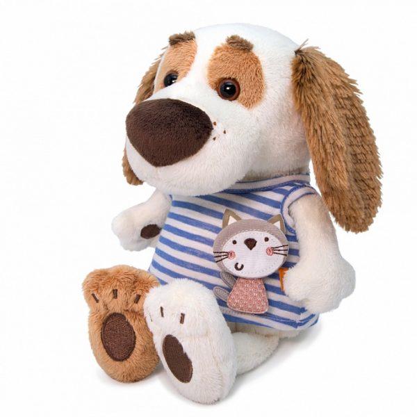Бартоломей BABY в футболке с кошечкой