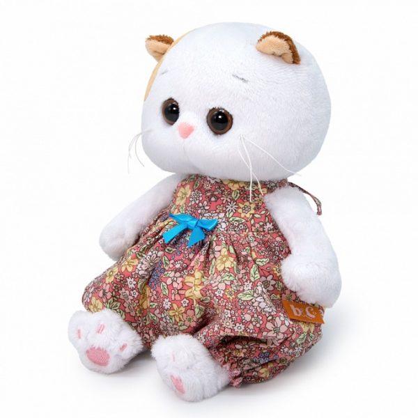 Кошечка Ли Ли BABY в песочнике в цветочек