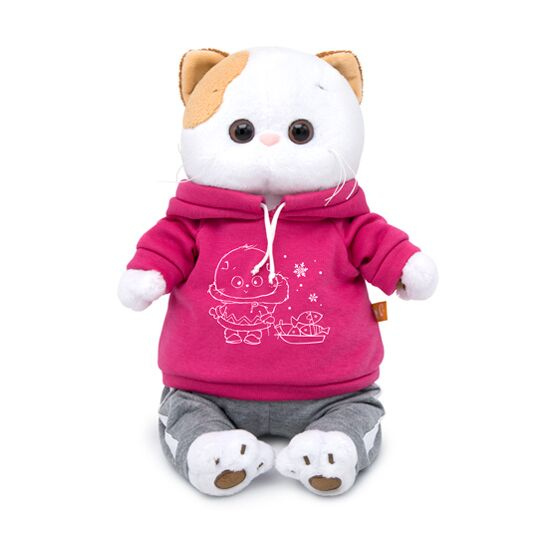 Кошечка Ли Ли в спортивном костюме