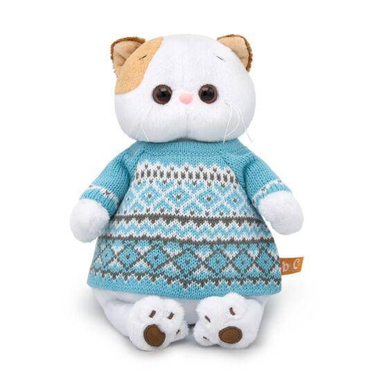 Одяг для Лі-Лі – Блакитний в'язаний светр